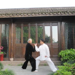 Tuishou simple Taijiquan